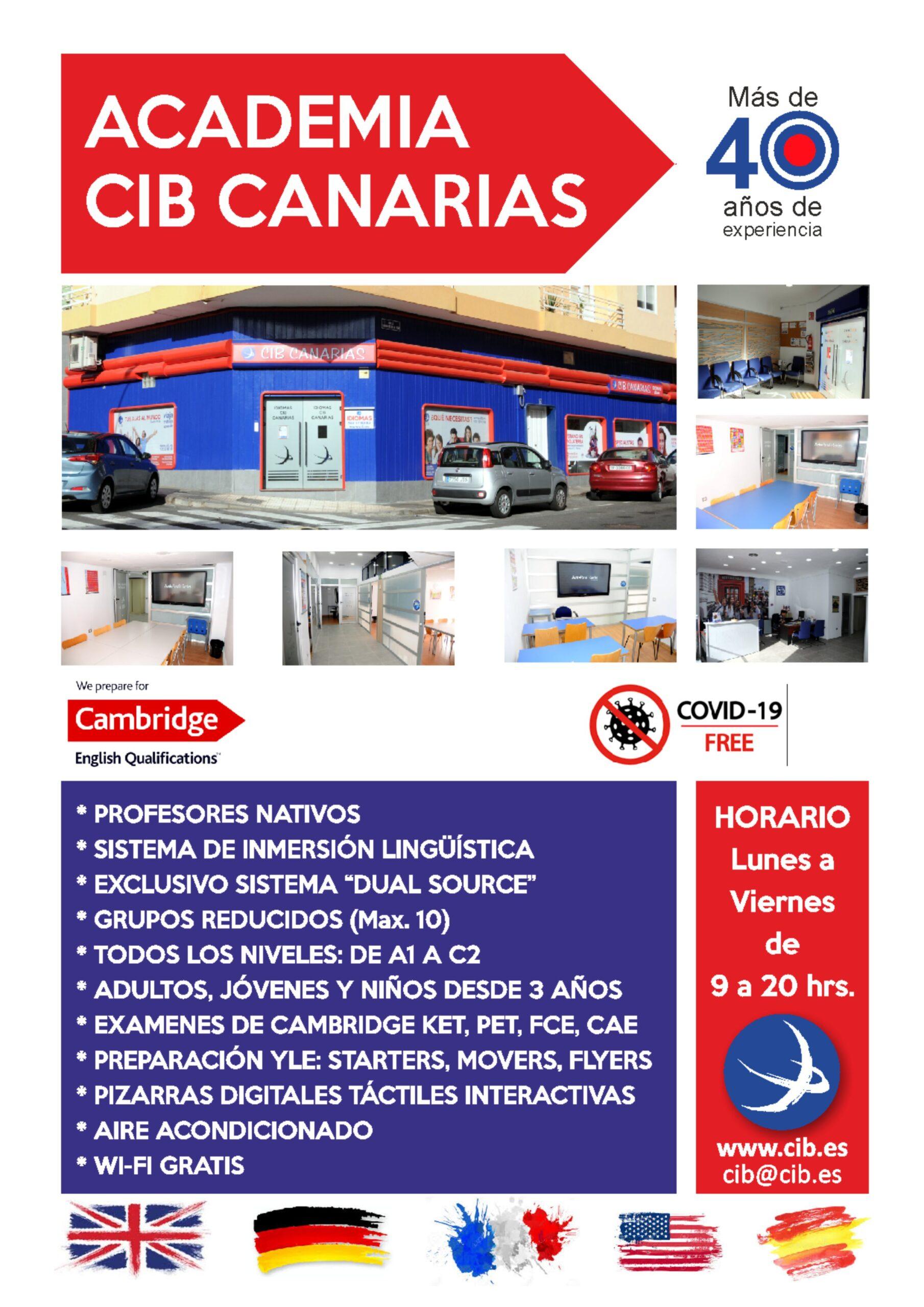 CIB Canarias, s.l. – desde 1976